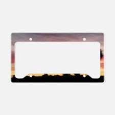Joshua Tree Silhouette License Plate Holder