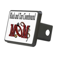 Black and Tan Coonhound Mo Hitch Cover
