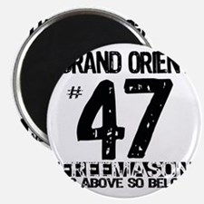 Freemason As Above So Below Magnet