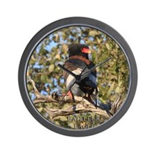 Bateleur Eagle Wall Clock