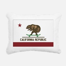 California Skateboard Be Rectangular Canvas Pillow