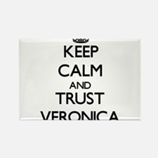 Keep Calm and trust Veronica Magnets