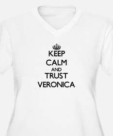 Keep Calm and trust Veronica Plus Size T-Shirt