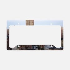 Manhattan Skyline License Plate Holder
