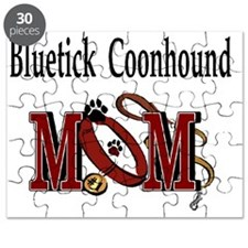 Bluetick Coonhound Mom Puzzle