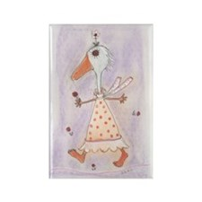 Silko Daisy Duck Rectangle Magnet