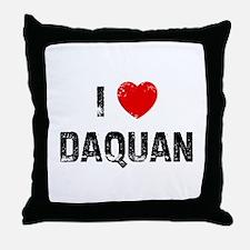 I * Daquan Throw Pillow