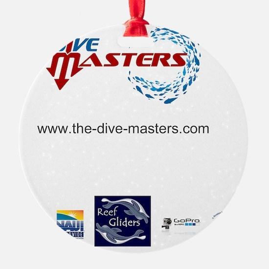 Dive Masters T-Shirt Back Ornament