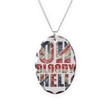 Oh Bloody Hell Necklace Oval Charm