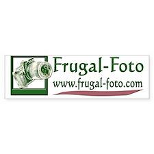 Frugal-Foto logo for Dark Product Car Sticker