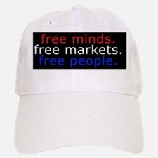 Free Minds Baseball Baseball Cap