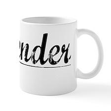 Callender, Vintage Mug