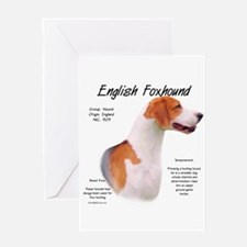 English Foxhound Greeting Card