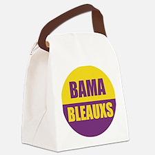 Bama Bleauxs Canvas Lunch Bag