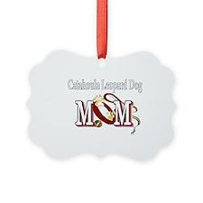 Catahoula Leopard Dog Mom Ornament