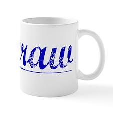Mcgraw, Blue, Aged Mug