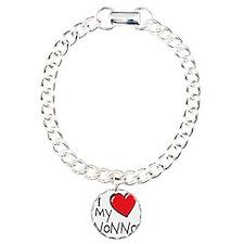 I Love My Nonno Charm Bracelet, One Charm