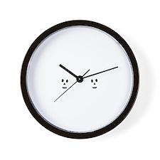 Ninja Twins 2 Wall Clock