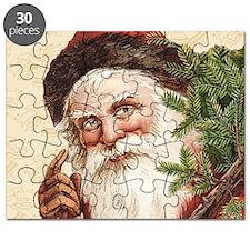Vintage Santa Claus Puzzle