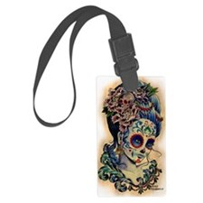 Marie Muertos shower curtain Luggage Tag