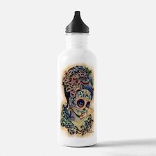 Marie Muertos shower c Water Bottle