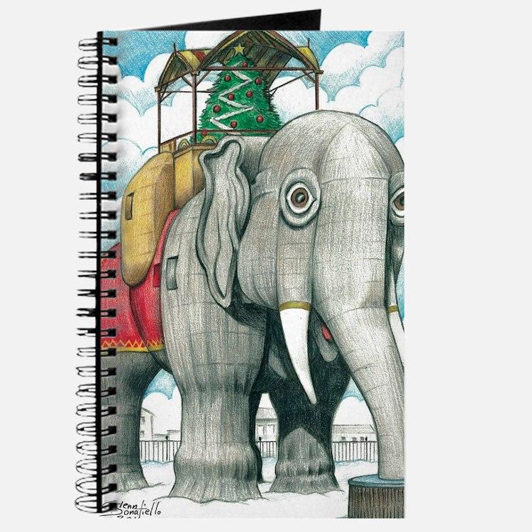 Lucy the Christmas Elephant, Margate NJ Journal
