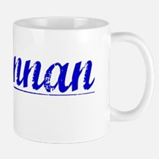 Mclennan, Blue, Aged Mug