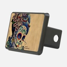 Marie Muertos laptop skin Hitch Cover