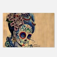 Marie Muertos laptop skin Postcards (Package of 8)