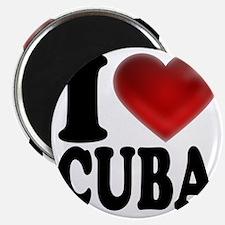 I Heart Cuba Magnet