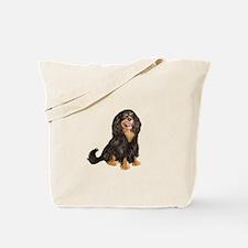 Cavalier (blk-tan) Tote Bag