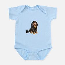Cavalier (blk-tan) Infant Bodysuit