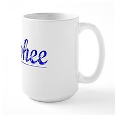 Mcphee, Blue, Aged Mug