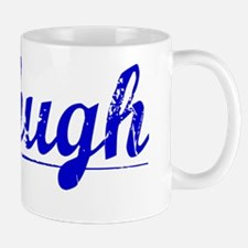 Mchugh, Blue, Aged Mug
