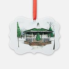 Christmas at Washington Park Gaze Ornament