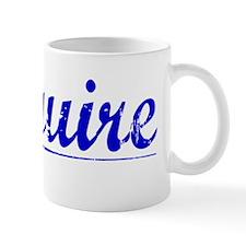 Mcguire, Blue, Aged Mug