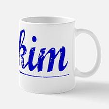 Mckim, Blue, Aged Mug