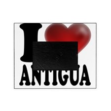 I Heart Antigua Picture Frame