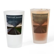 TwisterChasers Tornado Drinking Glass