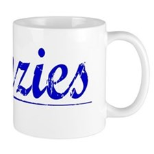 Menzies, Blue, Aged Mug