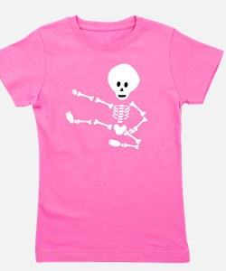 ninja skeleton Girl's Tee