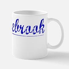 Middlebrook, Blue, Aged Mug