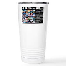 48 States puzzle calendar Travel Mug