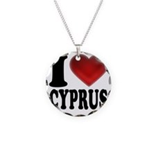 I Heart Cyprus Necklace