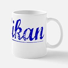 Millikan, Blue, Aged Mug