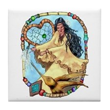 Walela Dreamcatcher Tile Coaster