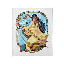 Walela Dreamcatcher Throw Blanket