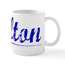 Melton, Blue, Aged Mug