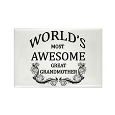 World's Most Awesome Great Grandmother Rectangle M