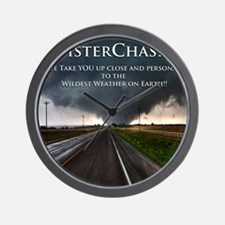 TwisterChasers Back Wall Clock